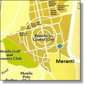 Meranti-Serendra-map